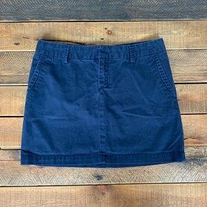 GAP navy miniskirt, size 2